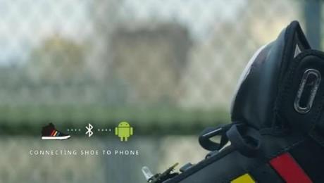 Google+ y Adidas presentan la zapatilla que habla