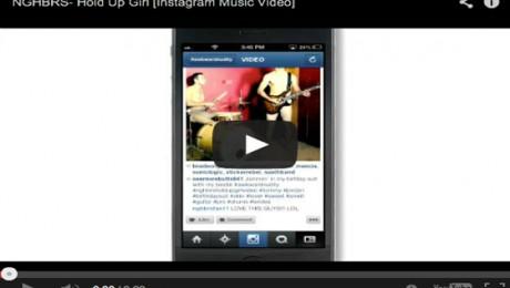 ¿Un videoclip realizado con Instagram?