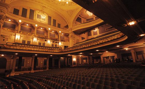 Calidad audiovisual en el mutek es hunger culture - Teatro coliseum madrid interior ...